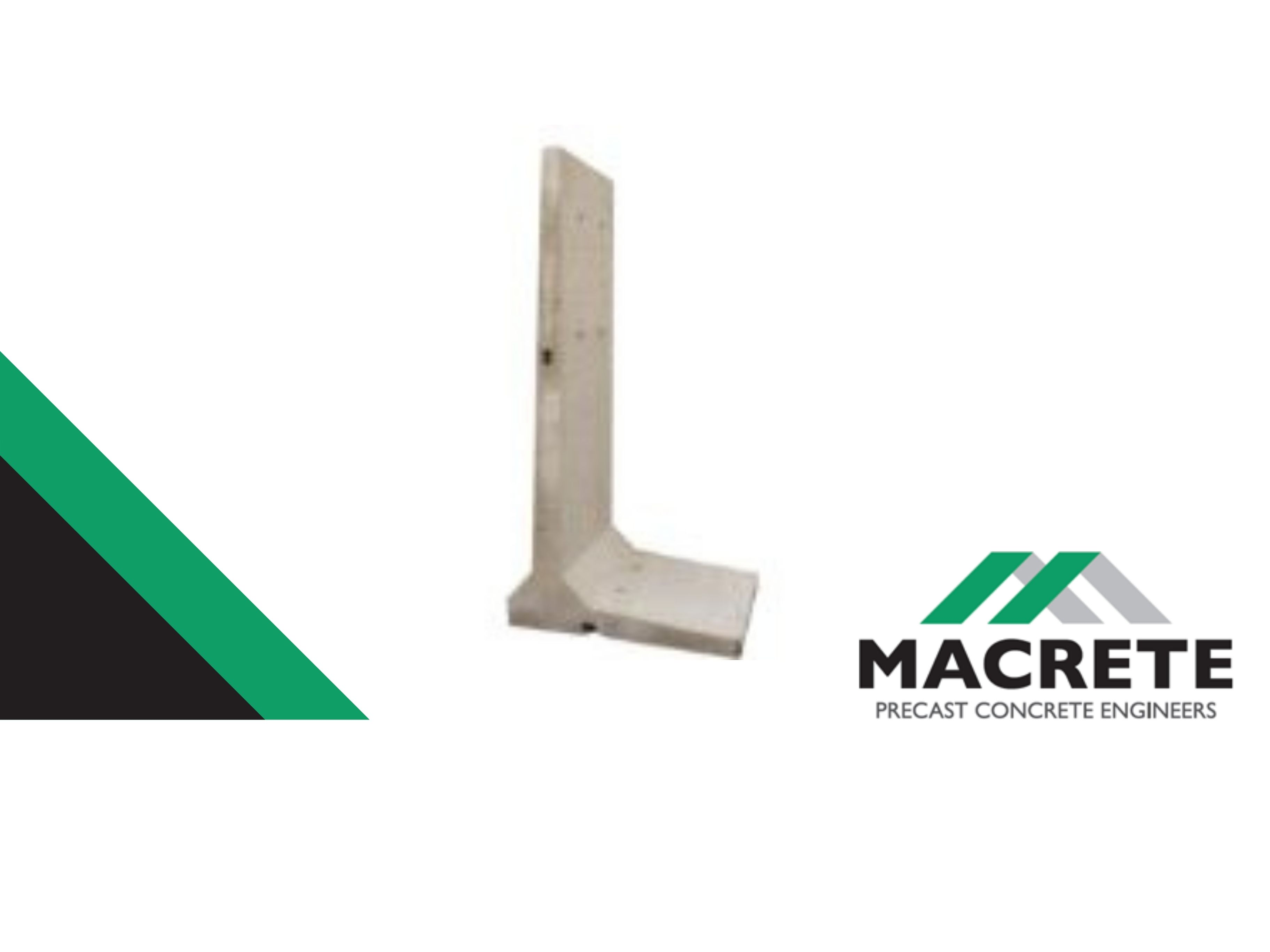 Macrete 2.4m Single Loading Retaining Wall