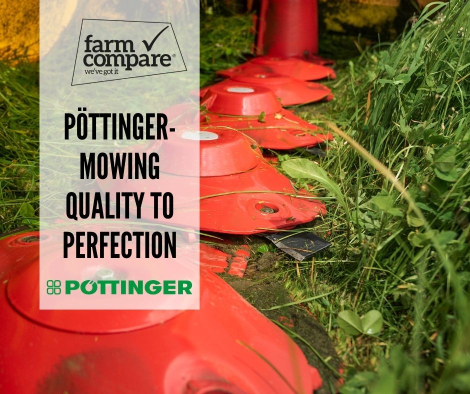 Why you will be mowing to quality perfection with Pöttinger