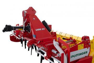 PÖTTINGER LION 303 CLASSIC lightweight rigid power harrows
