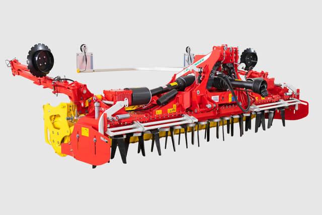 PÖTTINGER LION 403 C medium-weight folding power harrows