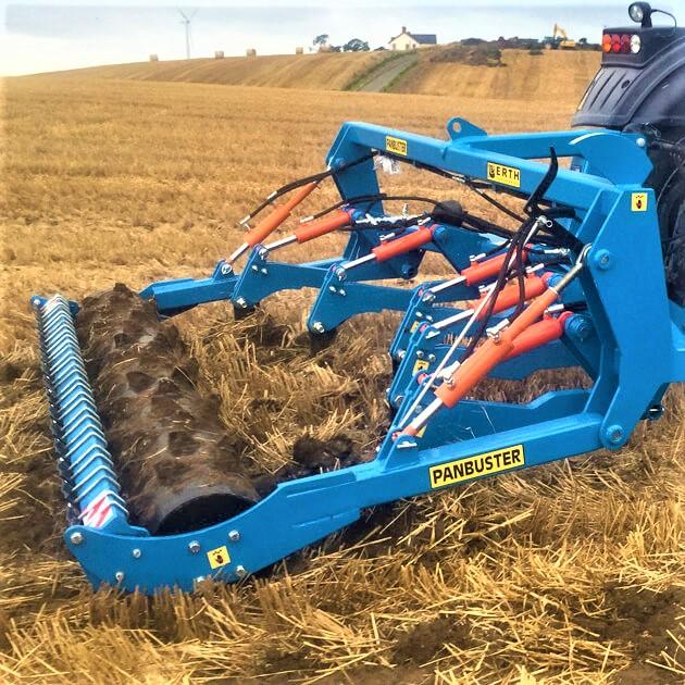Erth Engineering 3/4/5 Leg Shearbolt Arable Panbuster