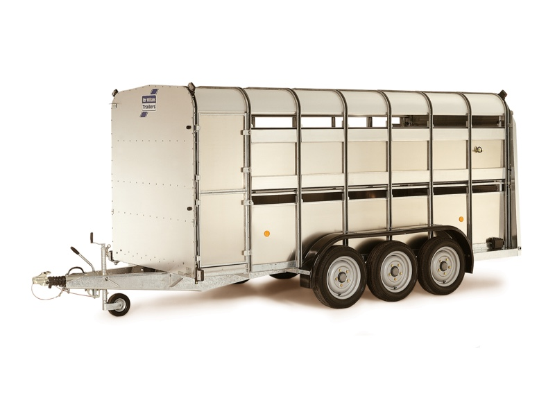 Ifor Williams TA510T 14x6 H/R TRI Livestock Trailer