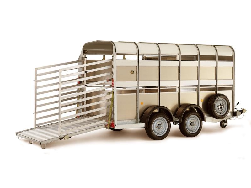 Ifor Williams TA5 8x6 H/R Livestock Trailer