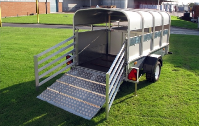 Indespension 8ft x 4ft Small Livestock Trailer