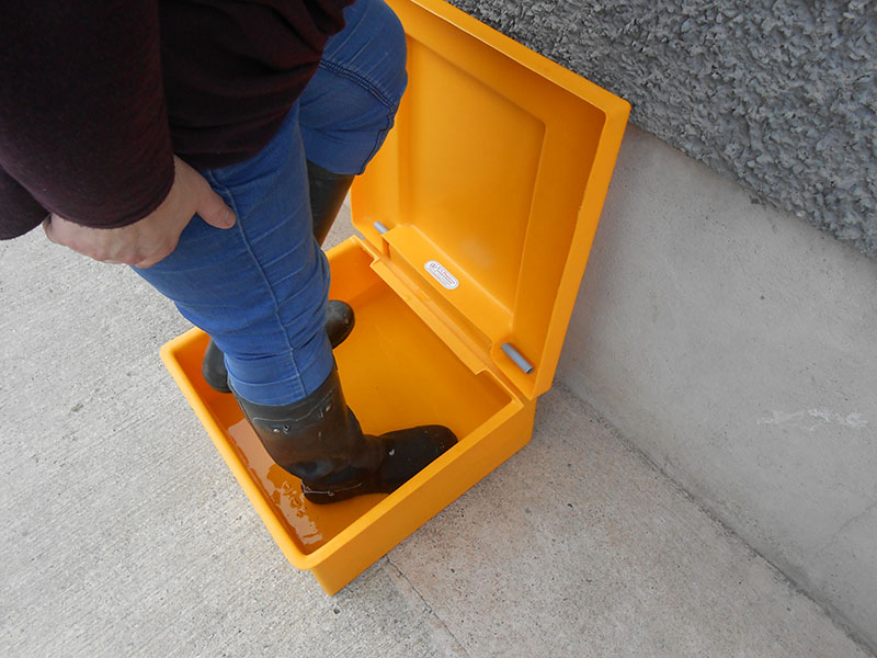 SFS Plastics Boot Bath