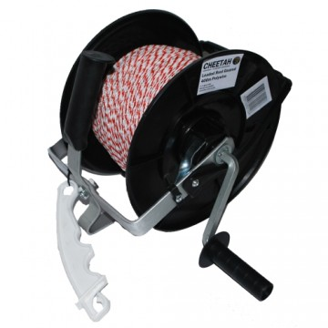 Cheetah 3:1 loaded reel with 400m wire