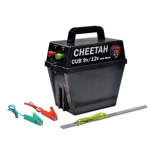 Cheetah Cub fencer strip grazer